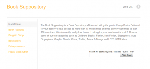 Book Suppository Home Page