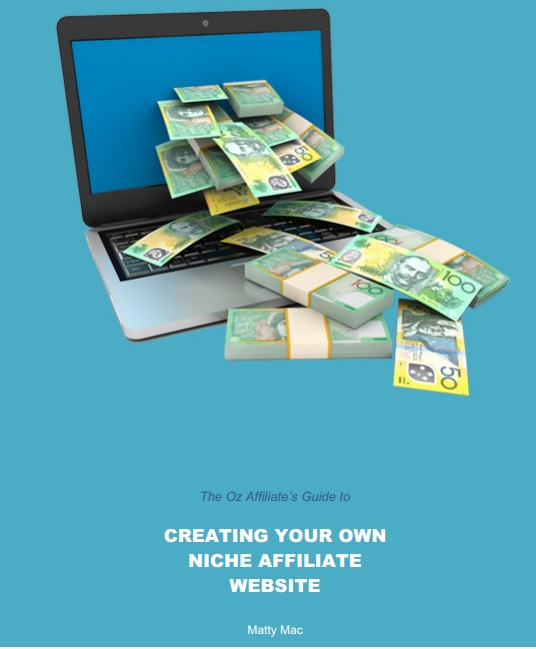 niche affiliate website ebook