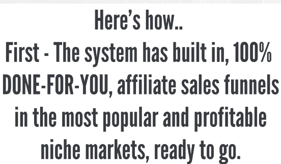 12 minute affiliate review | done for you system