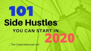 side hustles to start in 2020