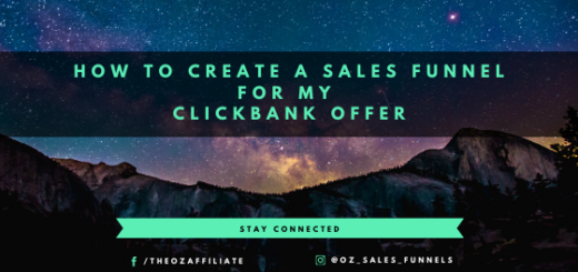 create a sales funnel for clickbank
