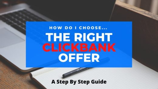 chosing the right clickbank offer