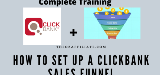 create a clickbank sales funnel