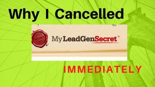 cancel my lead gen secret