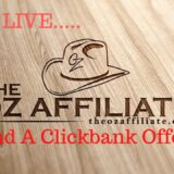 find a new clickbank offer
