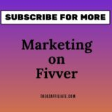 affiliate marketing via fiverr