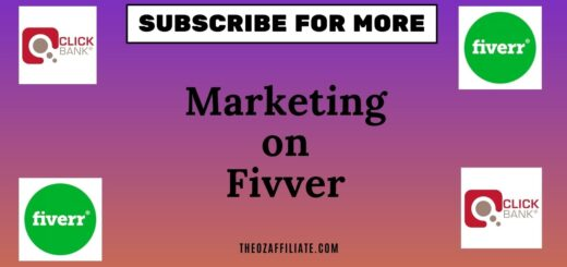 affiliate marketing via fiverr